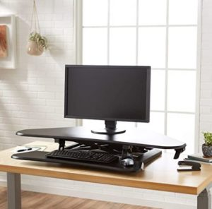 Porta pc e rialzo da tavolo per monitor