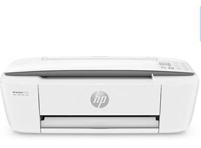 HP 3750 DeskJet Stampante a Colori, Wi-Fi, Multifunzione a Getto d'Inchiostro, Stampa, Scannerizza, Fotocopia, Wi-Fi Direct, 2 Mesi di Instant Ink Inclusi, Grigio Perla