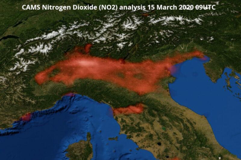 L'inquinamento Nord Italia