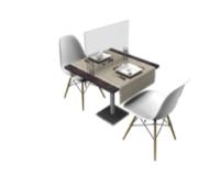pannello in plexiglass ideale per la ristorazione